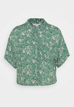 CORE CROP  - Button-down blouse - green