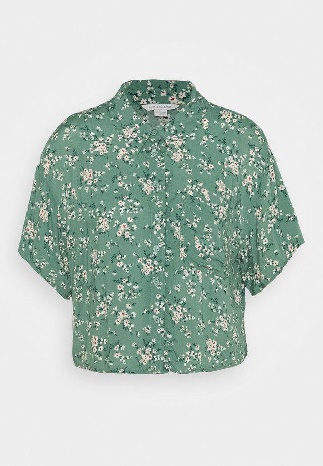 CORE CROP  - Camicia - green