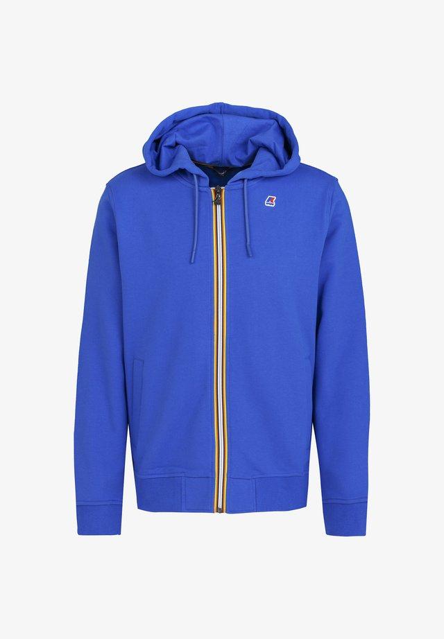 ANTHONY - Zip-up hoodie - blue royale