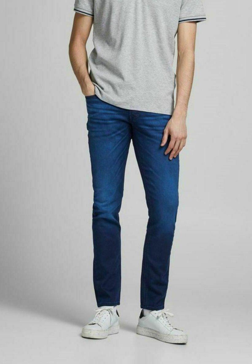 Uomo JJIGLENN  - Jeans slim fit