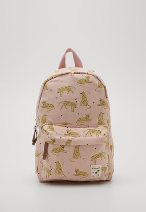 BACKPACK CUDDLE LEOPARD - Reppu - pink