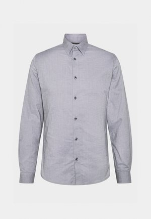 SOLID PINPOINT STRETCH - Chemise - dark grey