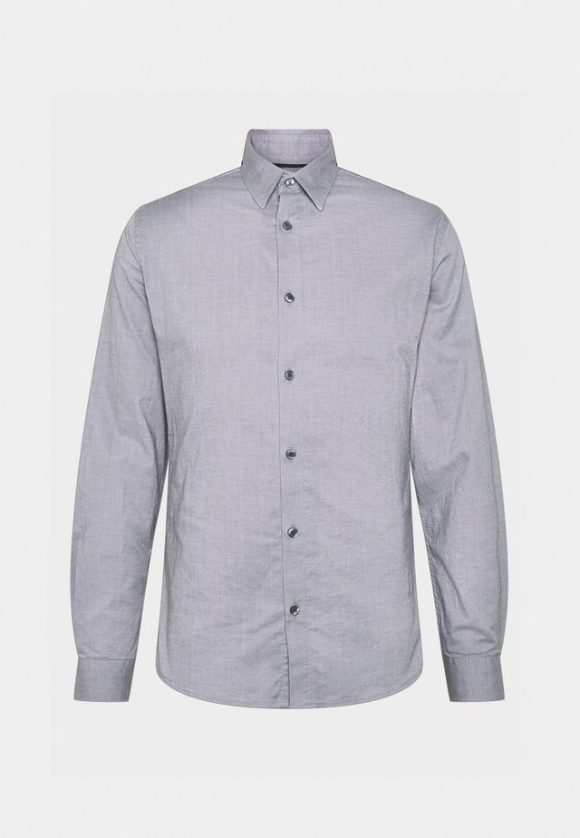 SOLID PINPOINT STRETCH - Shirt - dark grey