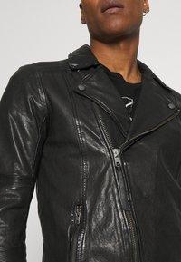 Tigha - ARNO - Leather jacket - black - 4