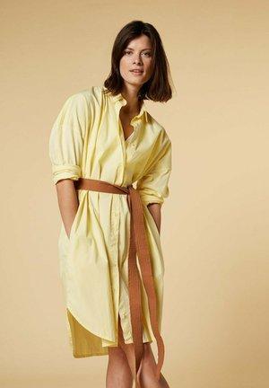 Sukienka koszulowa - lemon