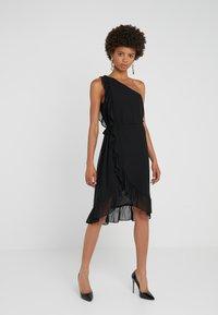 Bruuns Bazaar - ROSALINA KENDRA DRESS - Cocktail dress / Party dress - black - 0
