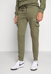 CLOSURE London - UTILITY JOGGER - Spodnie treningowe - khaki - 0