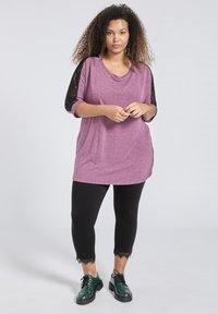 SPG Woman - Longsleeve - purple - 1