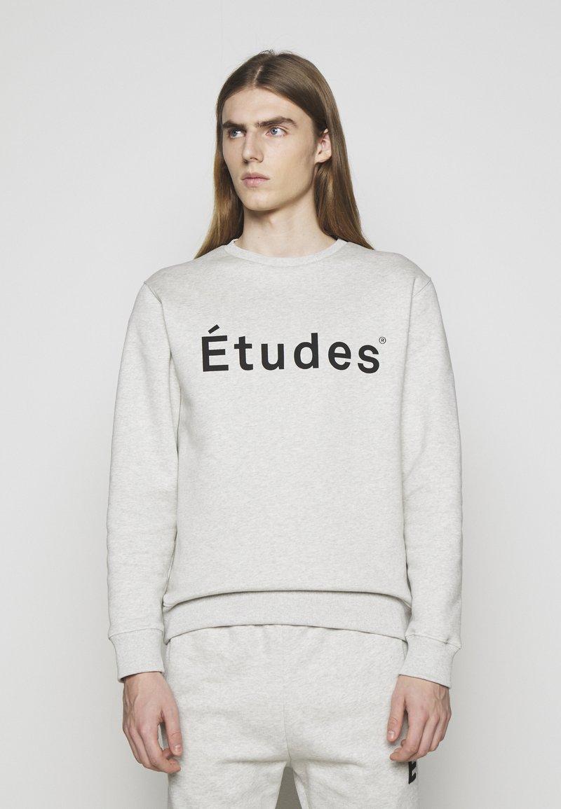 Études - STORY ETUDES UNISEX - Felpa aperta - heather grey
