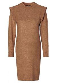 Supermom - DRESS - Stickad klänning - toasted coconut - 6