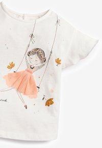 Next - Print T-shirt - off-white - 2