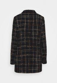 Barbara Lebek - Classic coat - fancy black/hazelnut - 1