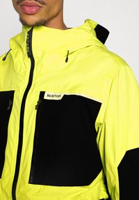 Burton - FROSTNER - Snowboardová bunda - limade/trublack - 5