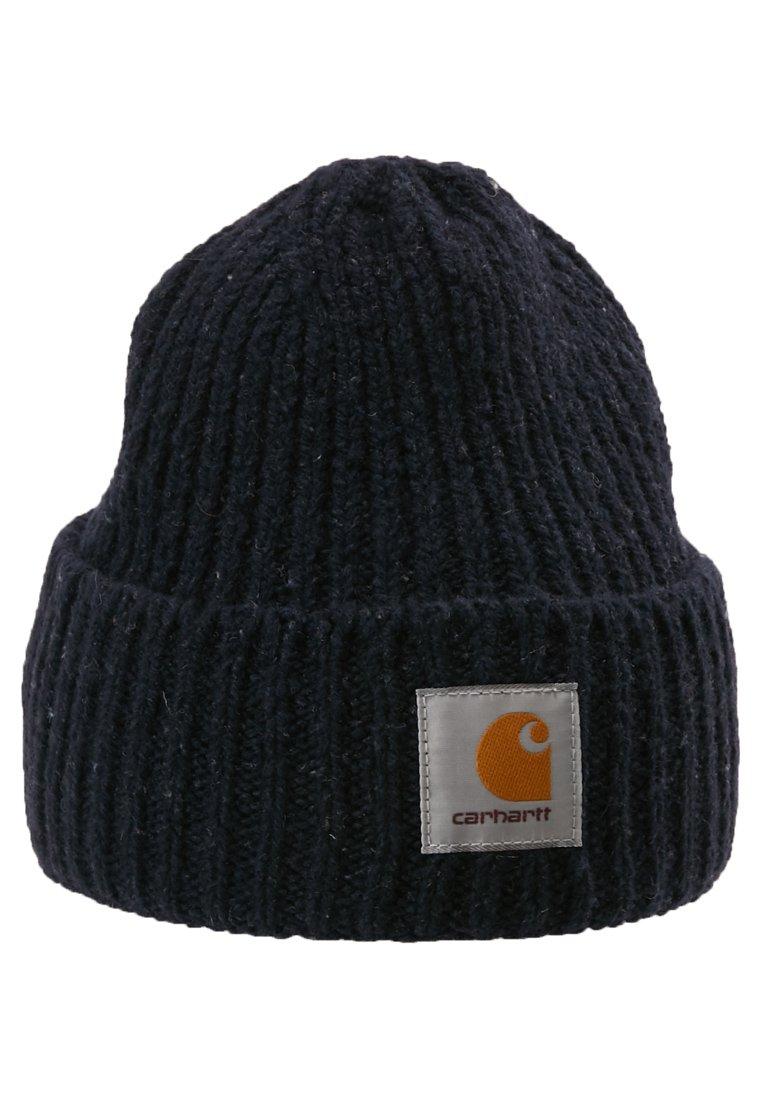 Carhartt WIP ANGLISTIC BEANIE - Lue - dark navy heather/mørkeblå p1RgKQIj80LOx1c