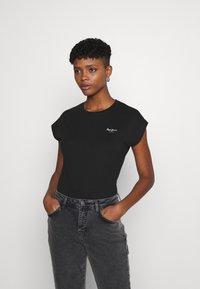 Pepe Jeans - BLOOM - Basic T-shirt - black - 0