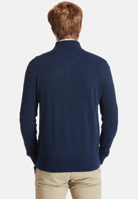 Timberland - WILLIAMS RIVER FULL ZIP - Cardigan - dark sapphire - 2