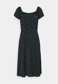 Even&Odd - Day dress - black/green - 4