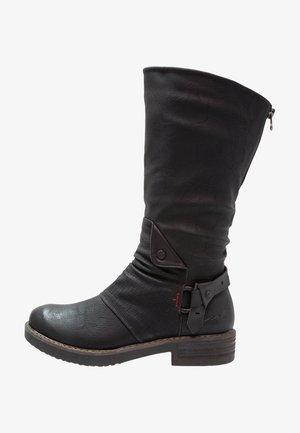 DAVISON - Cowboy/Biker boots - black