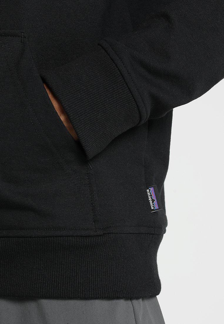 Patagonia Logo Uprisal Hoody - Bluza Z Kapturem Black