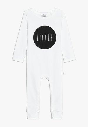 BABY LITTLE LONG ROMPER - Pyjama - white