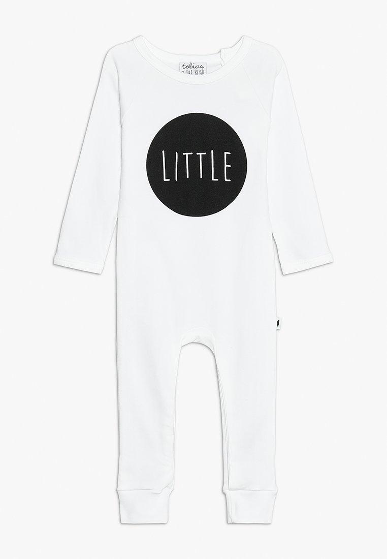 Tobias & The Bear - BABY LITTLE LONG ROMPER - Pyjamas - white