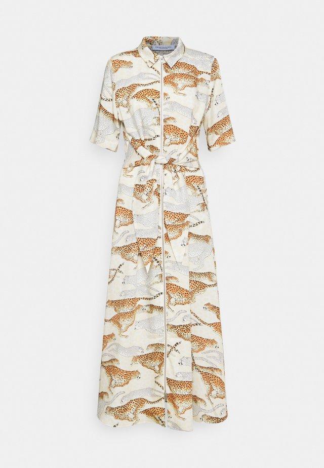 GABRIELLA - Robe longue - creme print