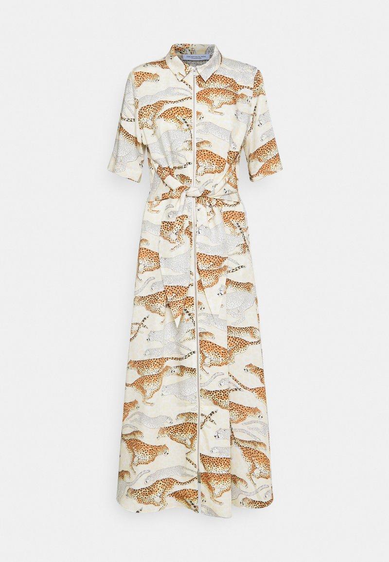 Hofmann Copenhagen - GABRIELLA - Maxi šaty - creme print