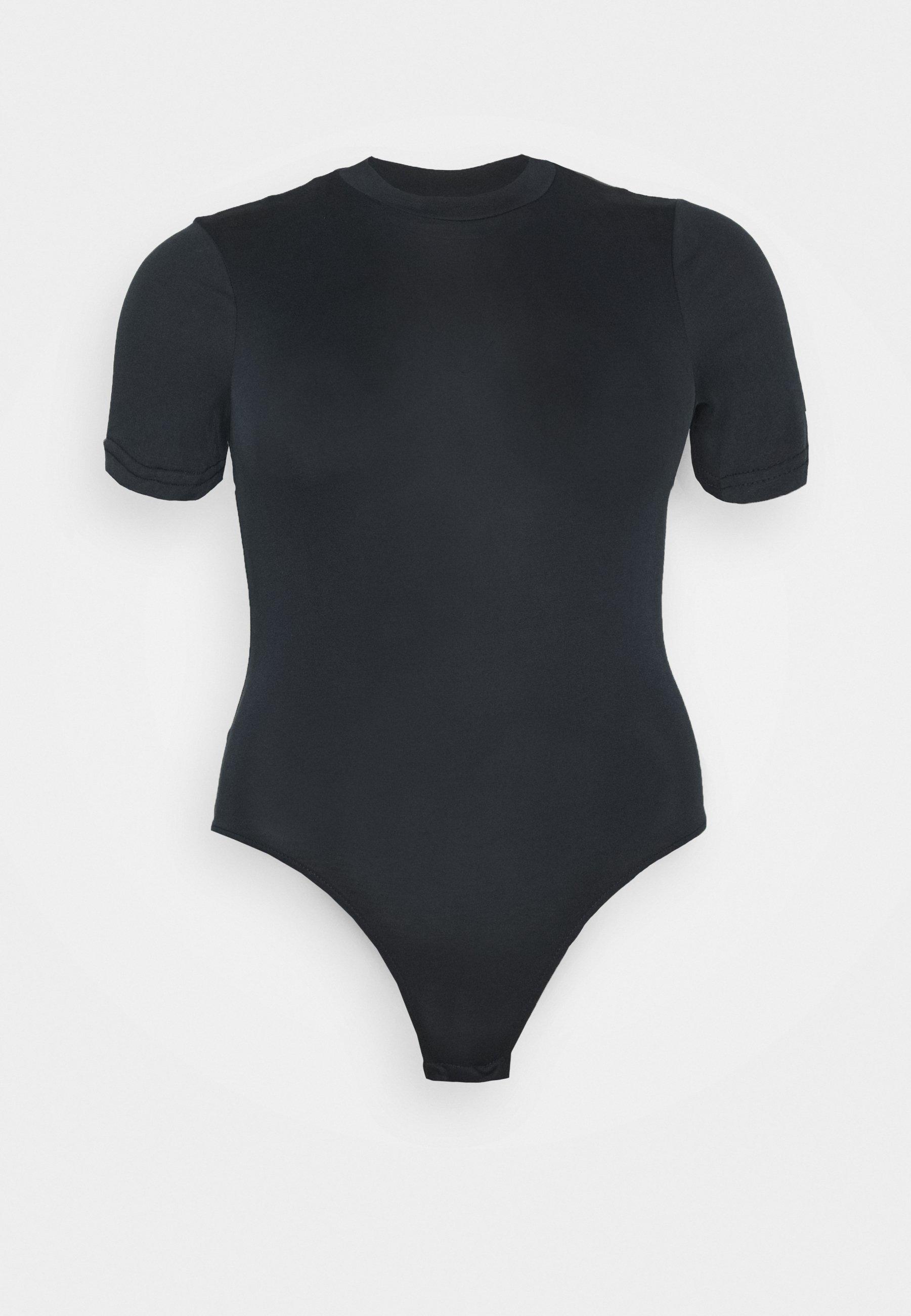 Pieces Curve Pcrebolita Bodystocking - T-shirts Black/svart
