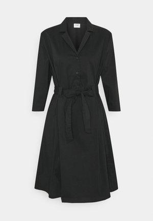 JDYMILLIE LIFE DRESS - Skjortekjole - black