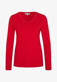comma casual identity - MIT V-AUSSCHNITT - Long sleeved top - scarlet red - 4