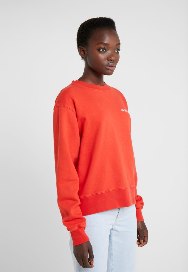 BULKY CREW - Bluza - faded red