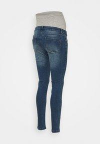 MAMALICIOUS - MLYORK - Jeans slim fit - medium blue denim - 1
