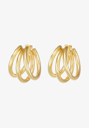 TRUE EARRINGS - Ohrringe - gold-coloured