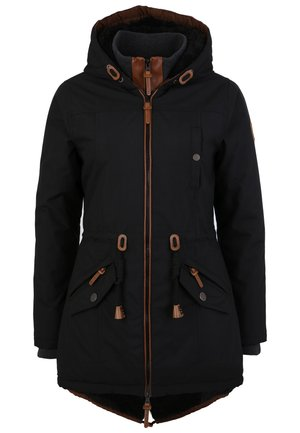 ABBY - Winter coat - black