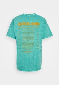 BDG Urban Outfitters - CELESTIAL TEE UNISEX - Print T-shirt - green - 7