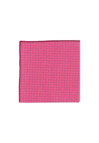 Hans Hermann - QUATTROMILE - Pocket square - pink - 1