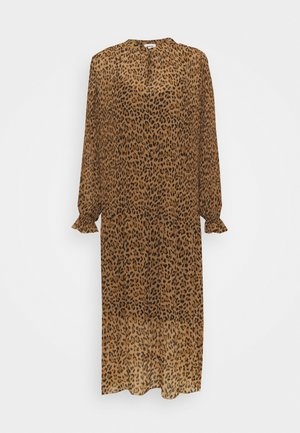 HITTA PRINT DRESS - Day dress - brown