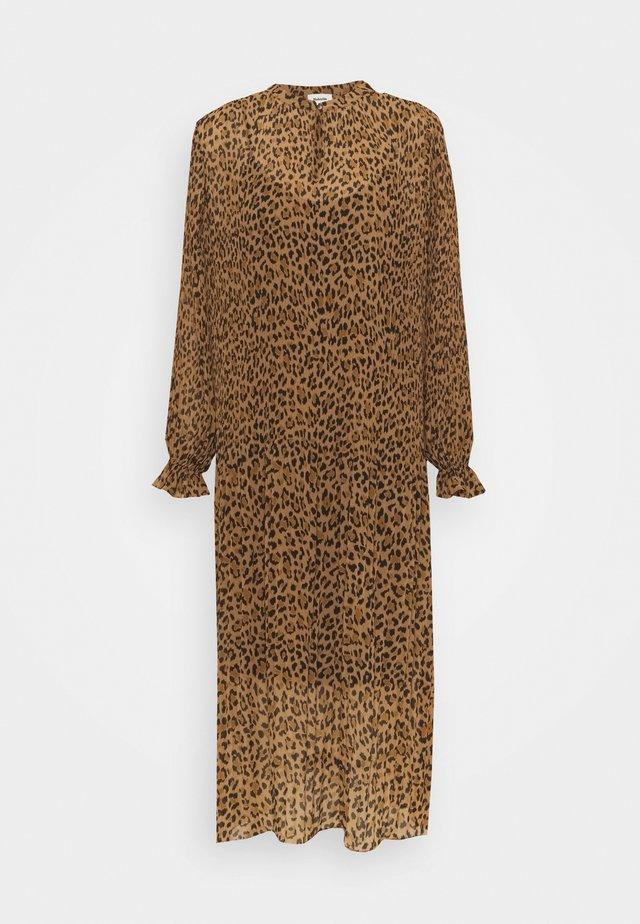 HITTA PRINT DRESS - Robe d'été - brown