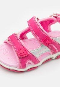 Pax - WAVE UNISEX - Sandales de randonnée - pink/silver - 5