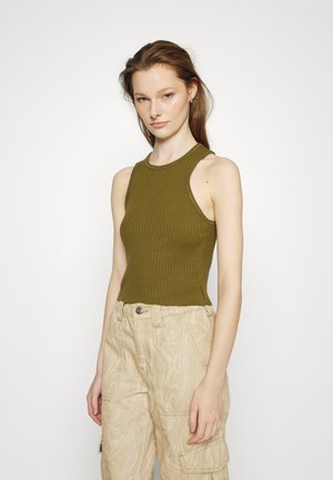 HIGH TANK - Top - olive