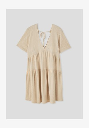 Jumper dress - beige