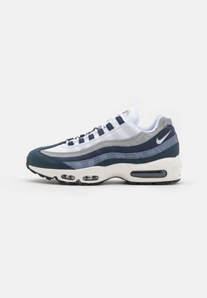 AIR MAX 95 ESSENTIAL - Sneaker low - midnight navy/white/sail/armory navy/ashen slate/light smoke grey