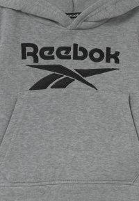 Reebok - HOODIE SOLID SET - Trainingsanzug - mottled grey - 3