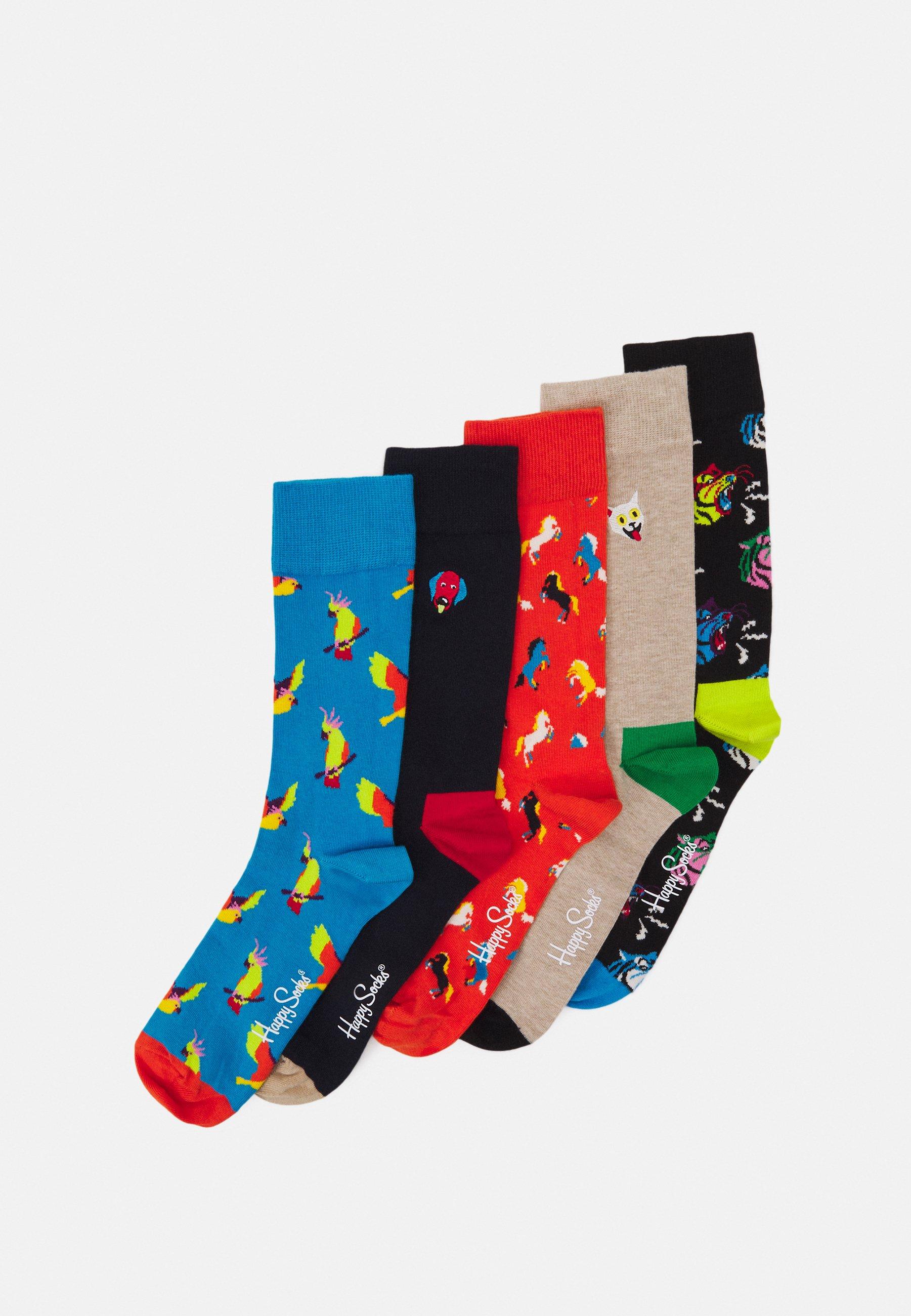 Men ANIMAL SOCKS GIFT SET 5 PACK  - Socks