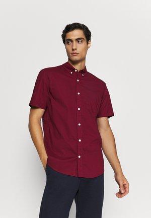 Košile - burgundy