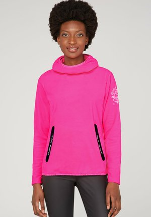 Long sleeved top - knockout pink