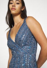 Lace & Beads - MACKENZIE MAXI - Occasion wear - navy irridescent - 3
