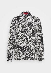 HUGO - ELIFIA - Button-down blouse - black - 4