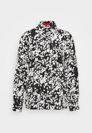 ELIFIA - Button-down blouse - black