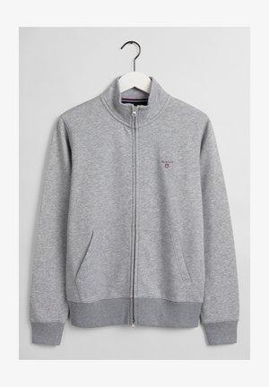 Sweatjakke - grey melange